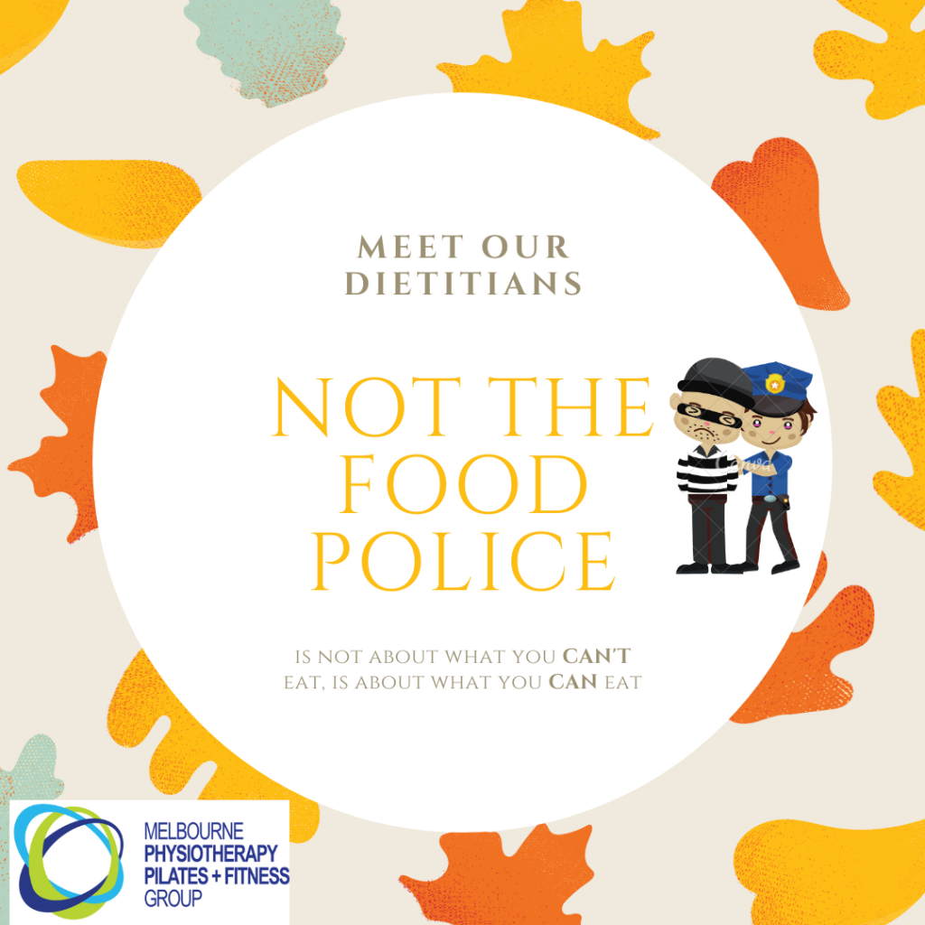 not the food police